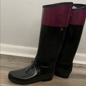 Hunter rain and riding boot